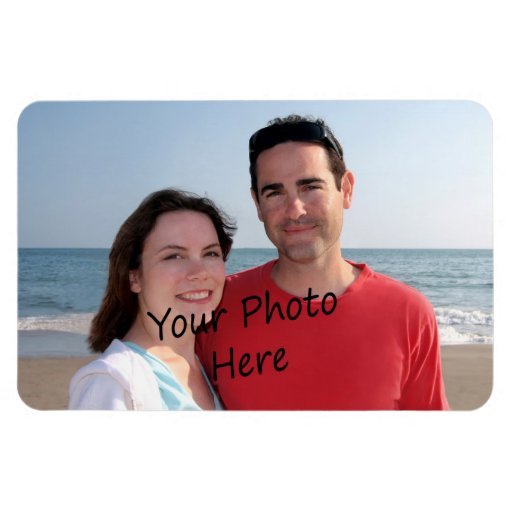 Your Photo On A Flexible Magnet