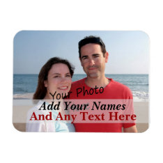 Your Photo On A Flexible Magnet at Zazzle