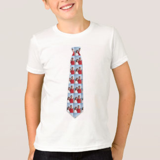 Your Photo On Fake Tie T-Shirt