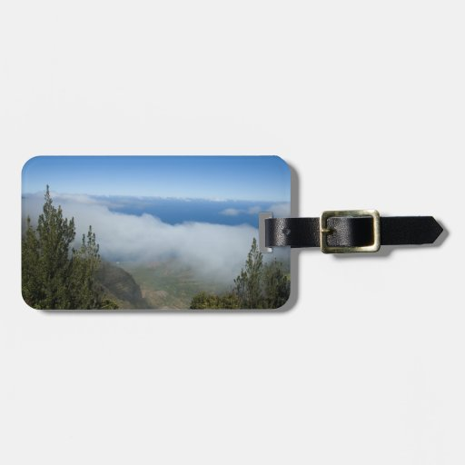 Your Photo or Waimea Canyon Above the Clouds Bag Tag