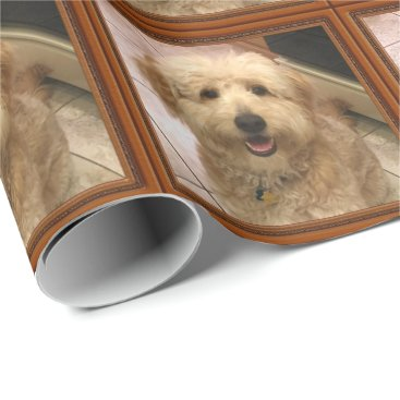 Christmas Themed YOUR PHOTO Personalized Wrapping Paper