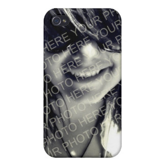 Your photo pink purple mod dots monogram letter iPhone 4/4S covers