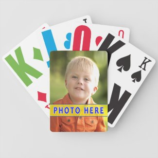 Large Playing Cards for Visually Impaired