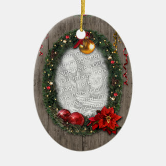 Your Photo(s) Christmas Tree Ornament