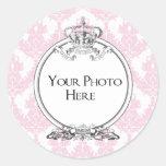 Your Photo Sticker (Peach)