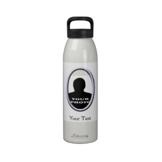 Your Photo Text 24oz Water Bottle