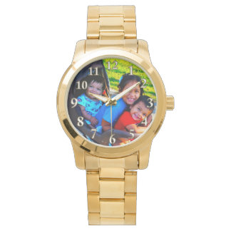 YOUR PHOTO Watch, INSTRUCTIONS or Call Linda Wristwatch