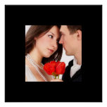 Your Photo Wedding Poster