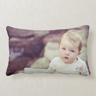 Your Photograph Lumbar Pillow