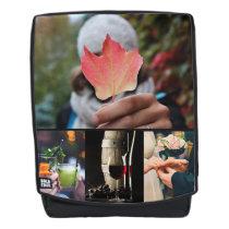 YOUR PHOTOS custom backpack