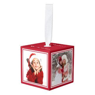 YOUR PHOTOS custom Christmas ornament