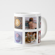 YOUR PHOTOS custom collage template mug