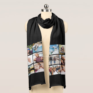 YOUR PHOTOS custom scarf