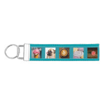 YOUR PHOTOS custom template wrist key chain