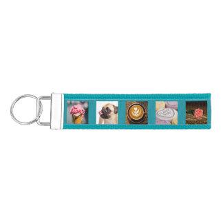 YOUR PHOTOS custom template wrist key chain