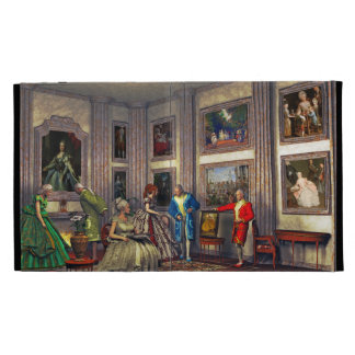 Your photos in a historical art gallery iPad folio cases
