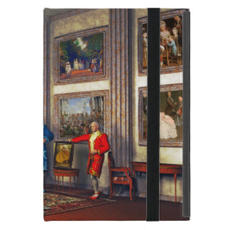 Your photos in a historical art gallery case for iPad mini
