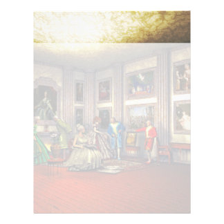 Your photos in a historical art gallery letterhead
