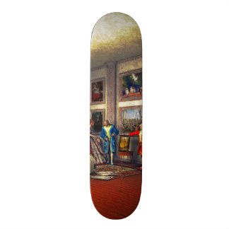 Your photos in a historical art gallery skateboard deck