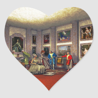 Your photos in a historical art gallery stickers