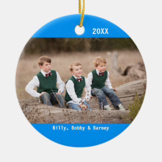 Your picture on a CHRISTMAS ORNAMENT