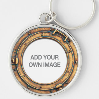 Your Picture Porthole Keychain A