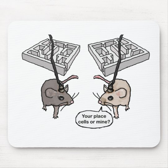 Your Place (Cells) or Mine? Mouse Pad