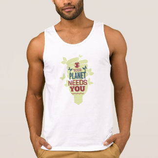 Your Planet Needs You Tank Top