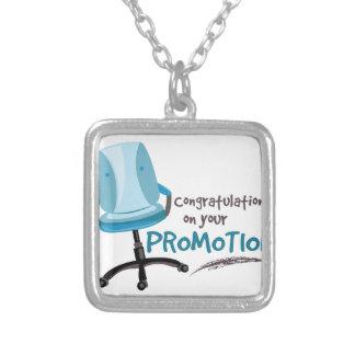 Your Promotion Square Pendant Necklace