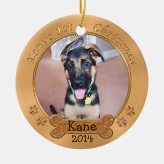 Your Puppy's First Christmas Ornament Custom Order
