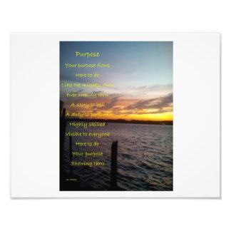 Your Purpose Photo Print