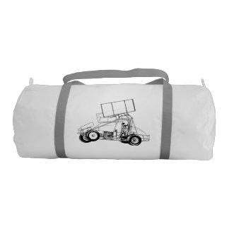 Your race teams sprint car duffle bag