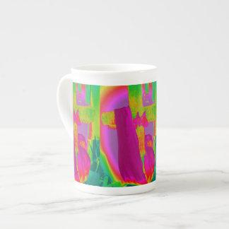 Your rainbow tea cup