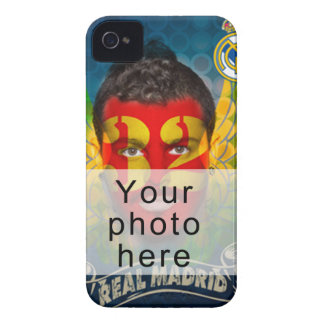 Your Real Madrid face for your BlackBerry Bold iPhone 4 Cover