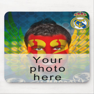 Your Real Madrid face for your Favorite mouse pad