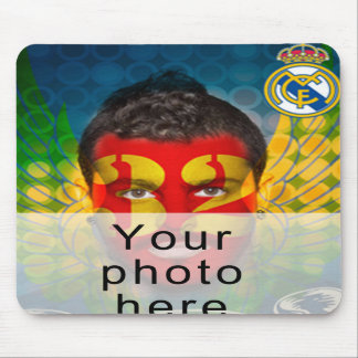 Your Real Madrid face Mouse Pad