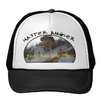 Your Record Fish Photo Trucker Hat