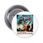 Your Red Cross 2 Inch Round Button