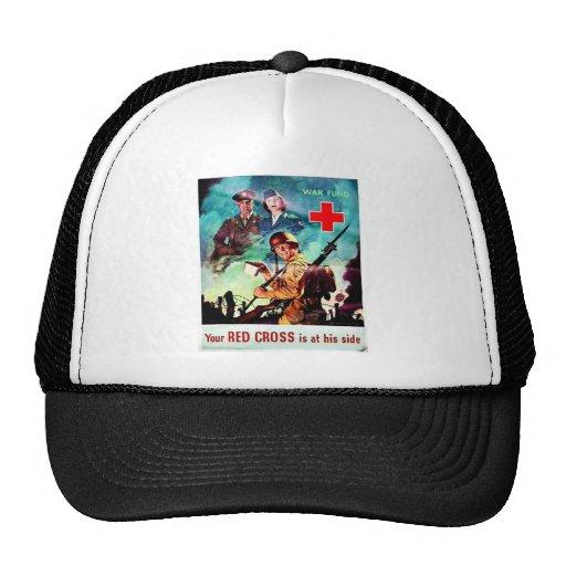 Your Red Cross Trucker Hat