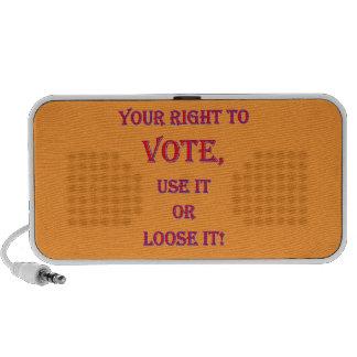 Your Right To Vote Mini Speaker