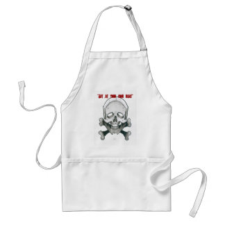 your risk! adult apron