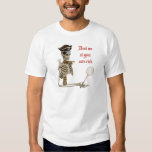 Your Risk Badminton Pirate Tee Shirt