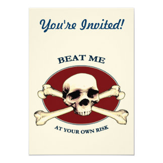 Your Risk Pirate Skull Card