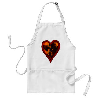 Your Rotten Heart Adult Apron
