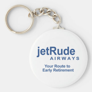 Your Route to Early Retirement Basic Round Button Keychain
