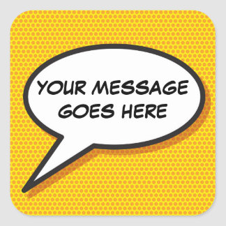 YOUR SAY! STICKER