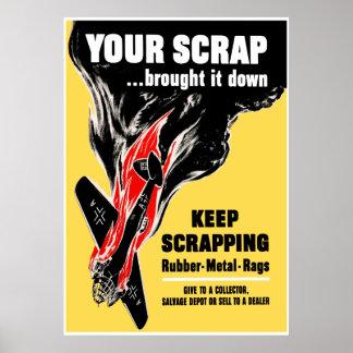 Your Scrap Brought It Down -- Border Print