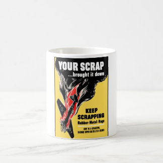 Your Scrap Brought It Down Classic White Coffee Mug