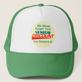 YOUR Senior Discount Hat