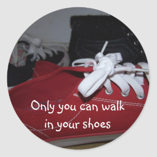 your shoes sticker